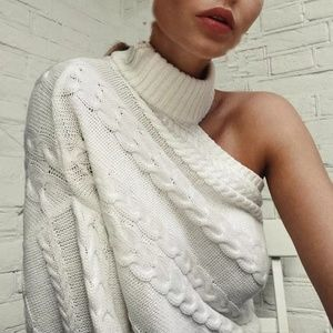 Sweaters - New Cable Knitted Turtleneck Sweater